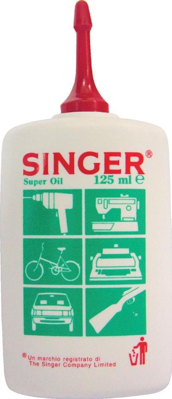 Olio Singer per macchine da cucire 125ml