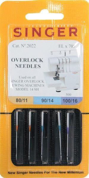 Aghi Singer Overlock n. 80-90-100.