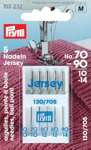 Aghi Prym Jersey testa piatta n. 70-90.
