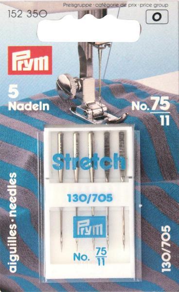 Aghi Prym Stretch testa piatta n. 75.