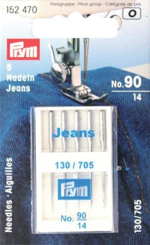 Aghi Prym Jeans testa piatta n. 90.