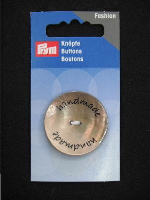 Bottone in madreperla Prym.