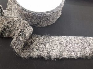 Bordo in pelliccia sintetica 6cm
