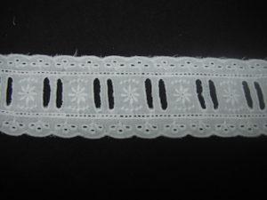 Tramezzo sangallo con passanastro bianco 5cm