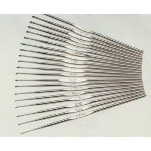 Uncinetto in acciaio per cotone n. 3/1.70mm